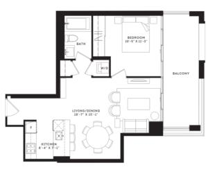 The Arthur Floorplan 1