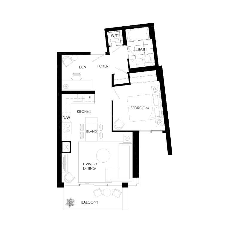 Ortega 610B Floorplan 1