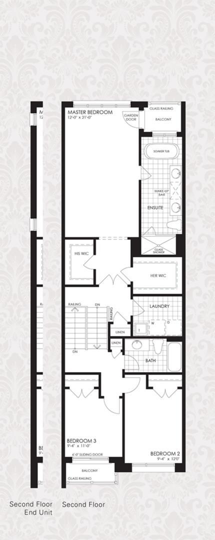 The Harvard Collection - The Harvard 2 Floorplan 4