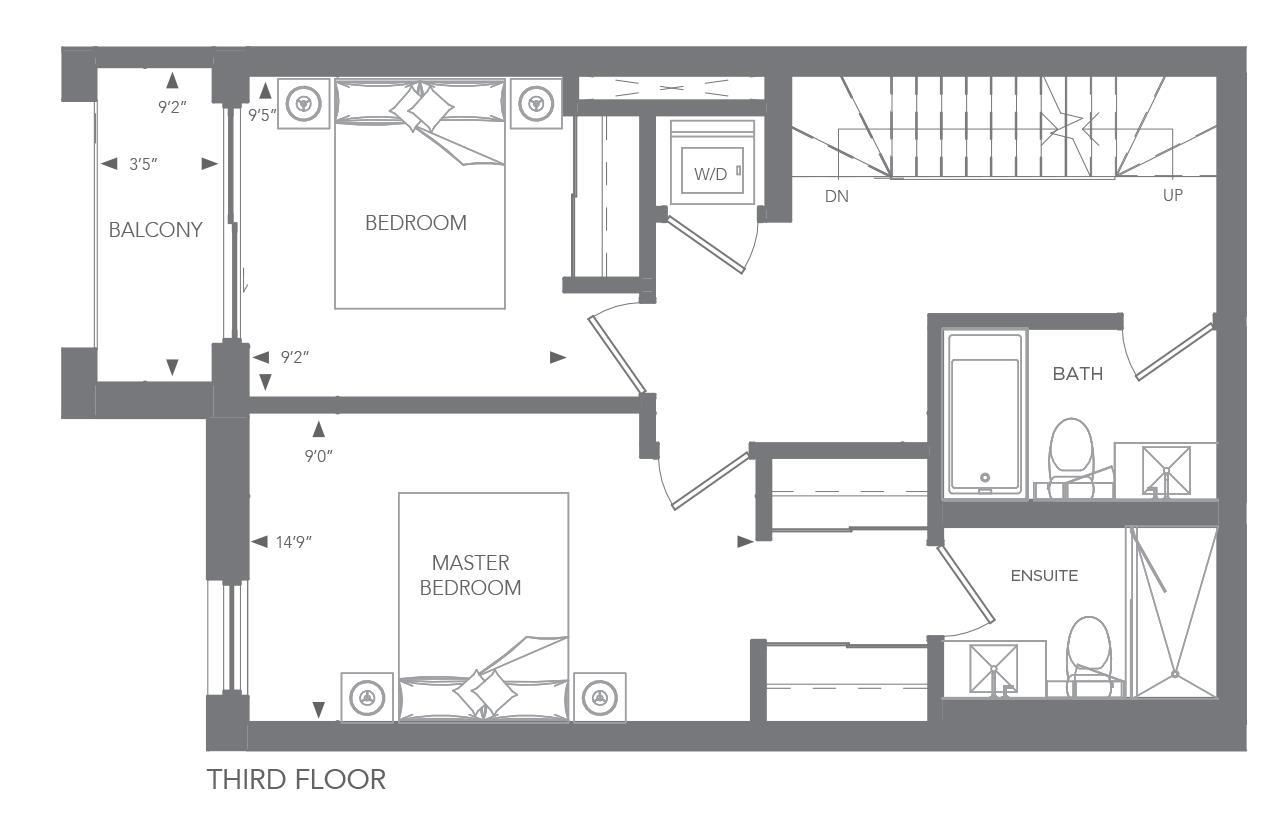 No. 25, 26, 43, 46, 47, 50 Floorplan 3