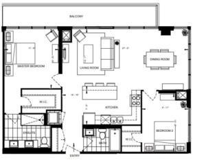 2B-F Floorplan 1