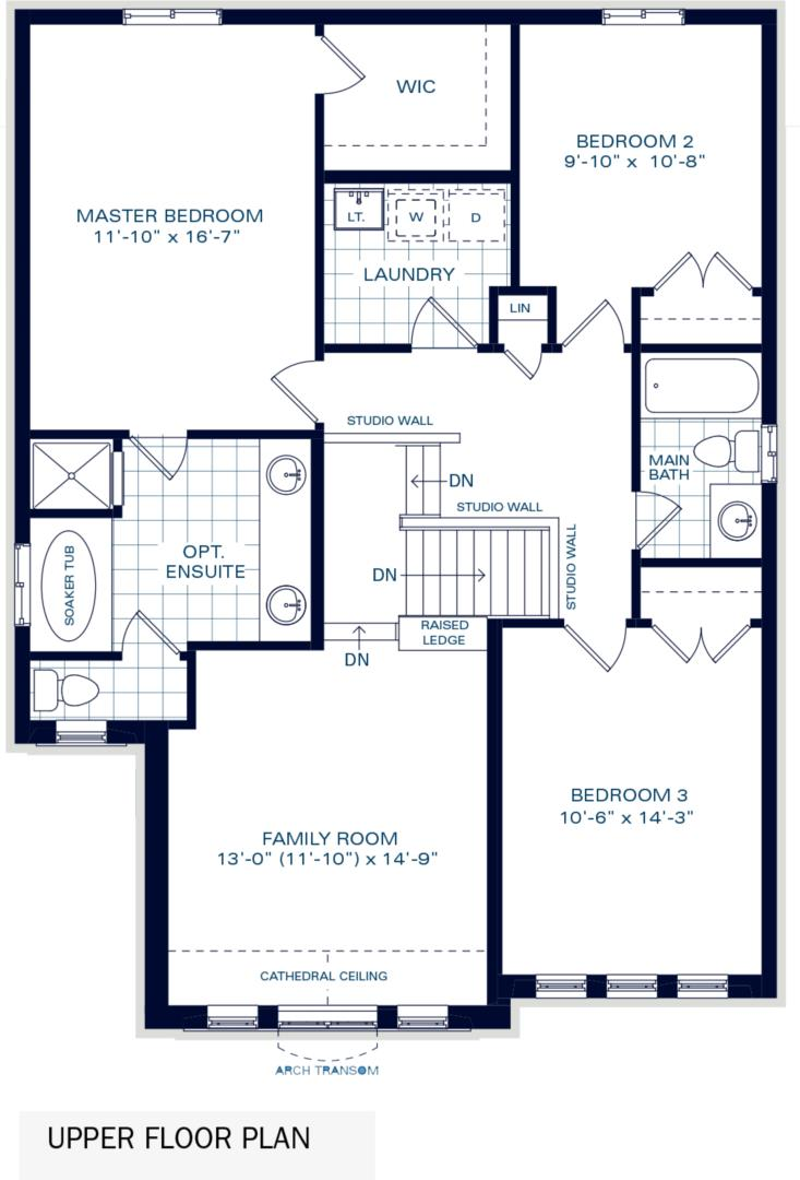 The Brighton II B Floorplan 2