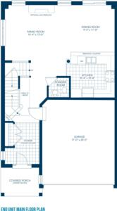 The Siena Floorplan 1