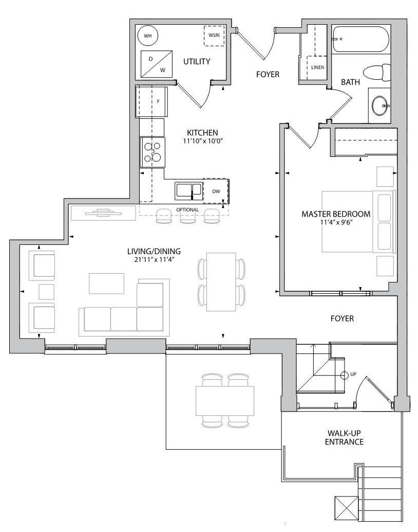 The Aversley Floorplan 1