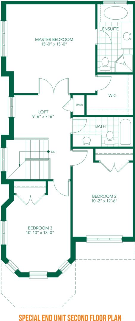 The Villa Floorplan 4