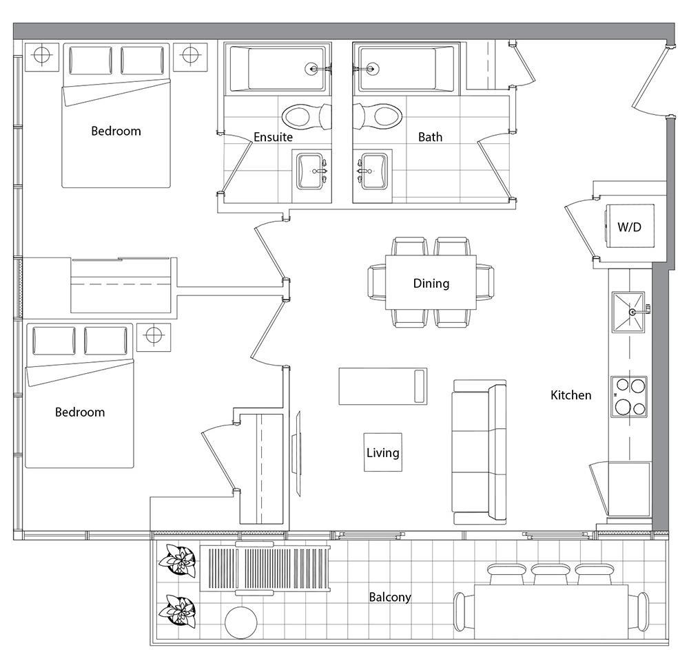 Upper (West Tower) 08 Floorplan 1