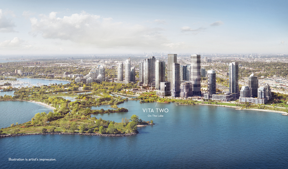 Vita Two on the Lake is your final opportunity to own a Mattamy Condo on the Etobicoke waterfront! Image