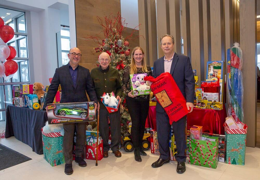 Kylemore Communities supports Markham Stouffville Hospital Foundation with annual holiday celebration Image