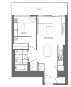 1-X Floorplan 1