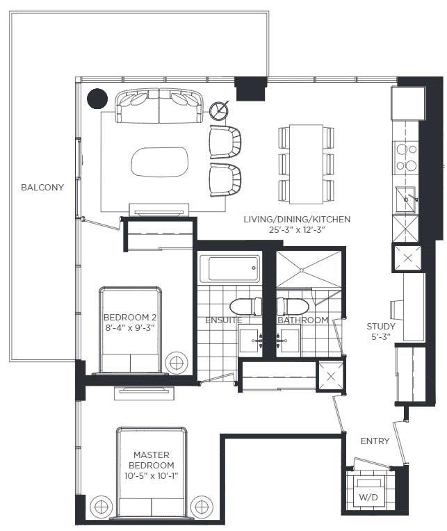 Kerrington Floorplan 1