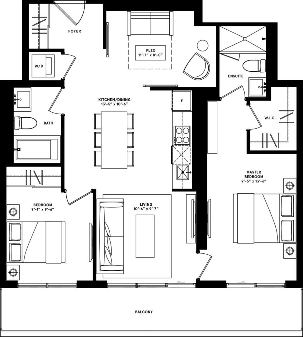 New York Floorplan 1