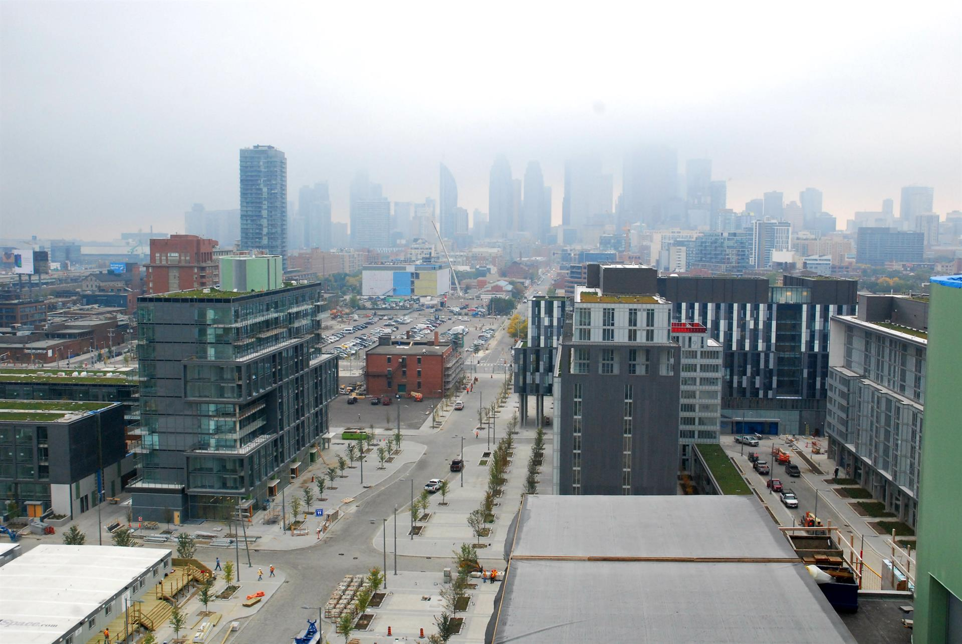 It's All Coming Together at the Canary District in Toronto Image