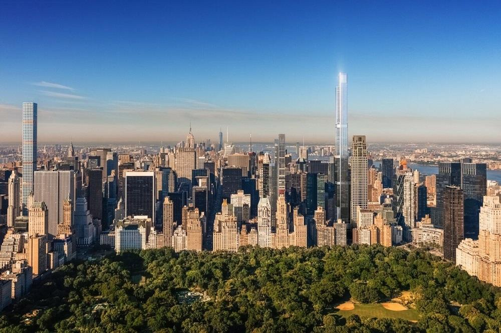 Central Park Tower now the tallest residential building in the world Image