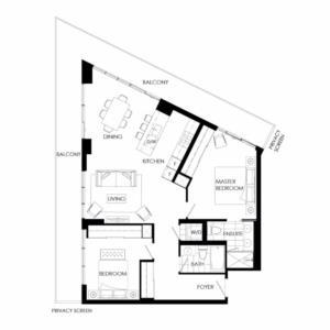 Buffet 1095 Floorplan 1