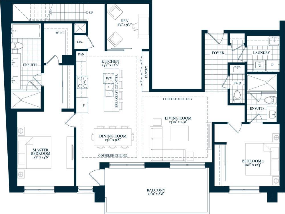 Lakeside Floorplan 1