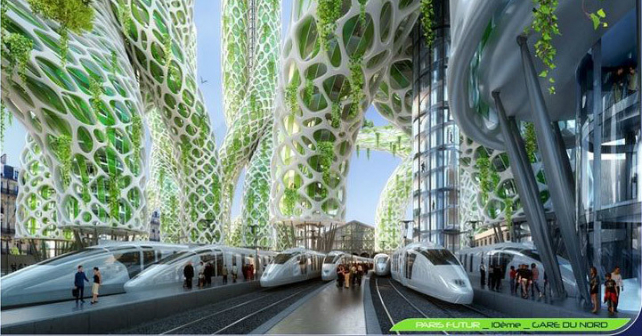 Vincent Callebaut Reimagines Paris as a Sustainable Garden Image