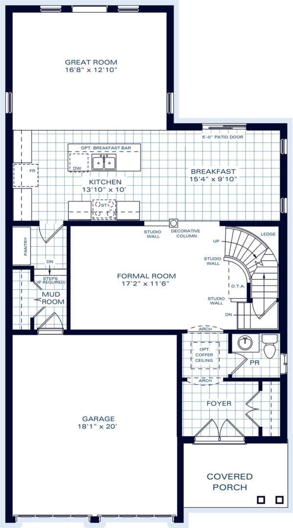 The Carmichael A Floorplan 1