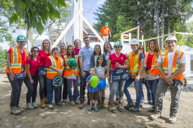 Geranium Homes sponsors the first Habitat GTA home in Stouffville Image