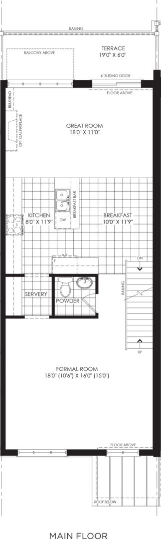 BLOCK 9, ELEV. B1 REV, UNIT 2 Floorplan 2