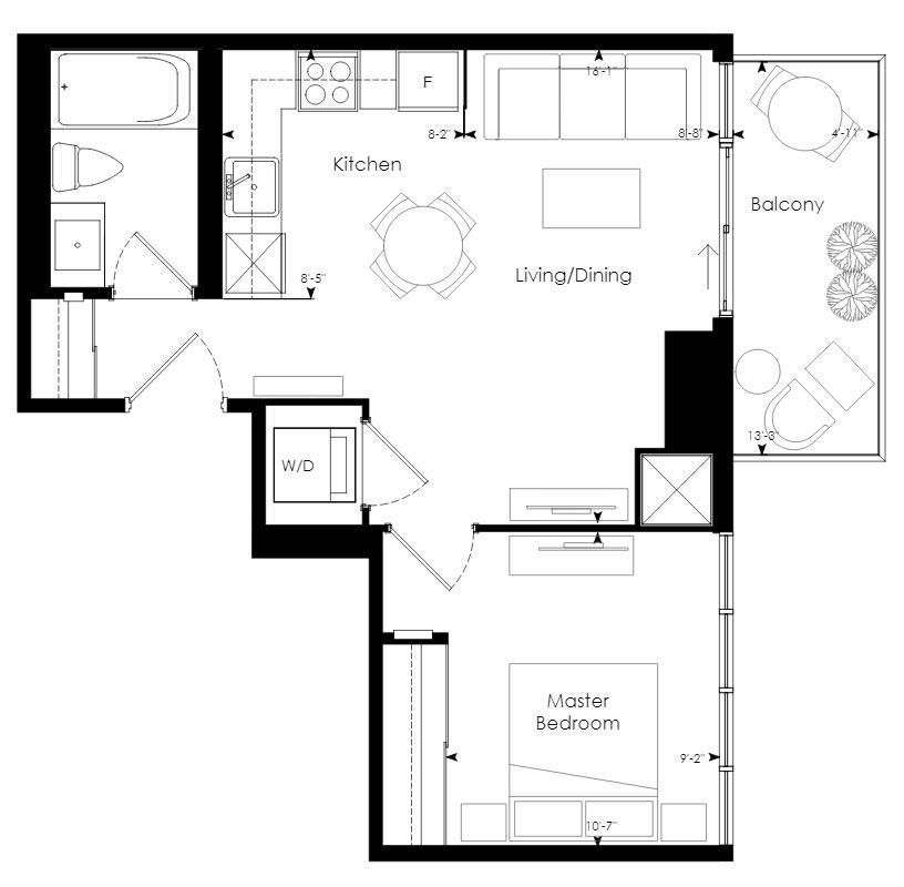 Tower 02 Floorplan 1