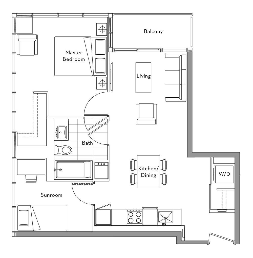 The 360 Collection - 006 Floorplan 1