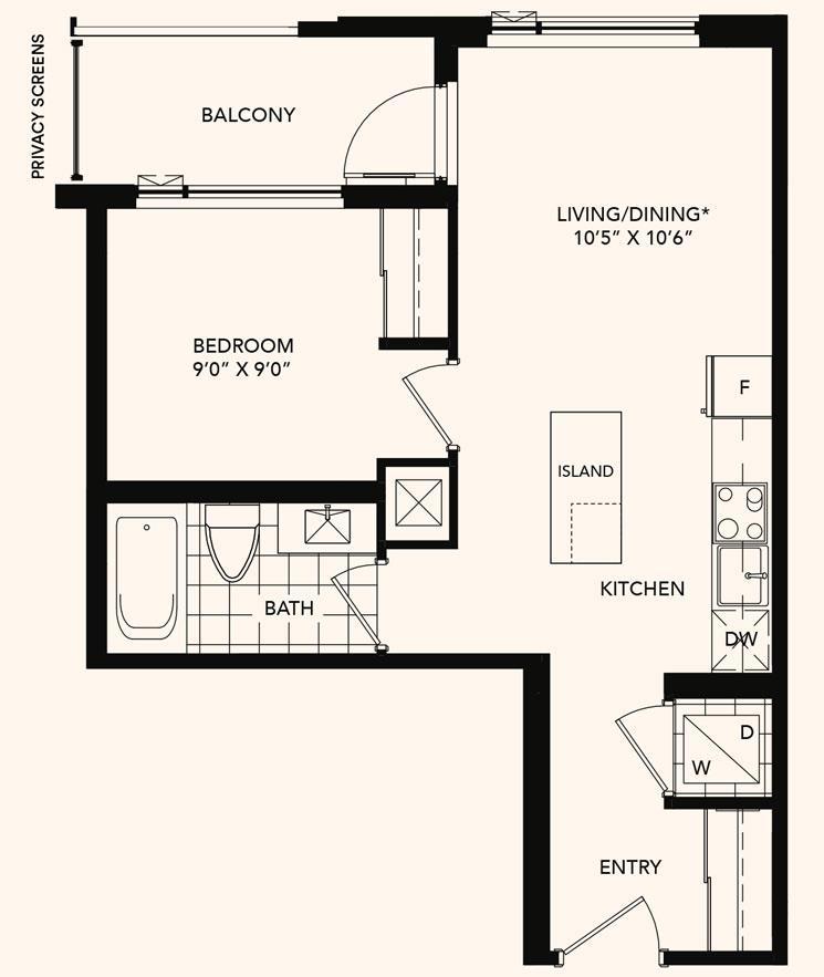 The Highland Floorplan 1