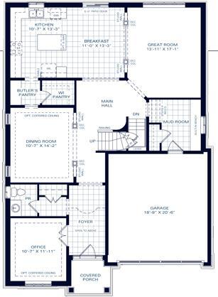 The Killarney A Floorplan 1