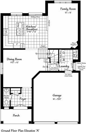 The Windermere 5 Floorplan 1