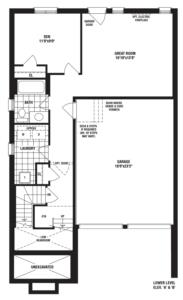 Diamond B Floorplan 1