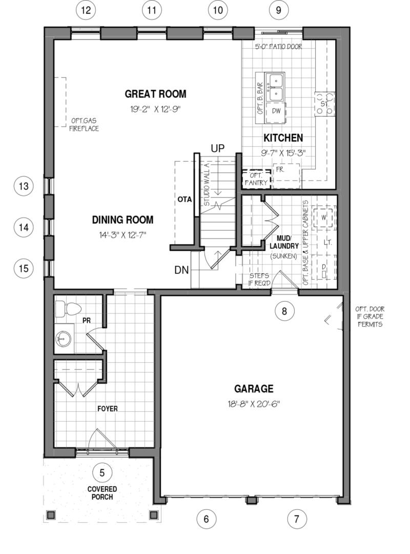 The Rahi A Floorplan 1