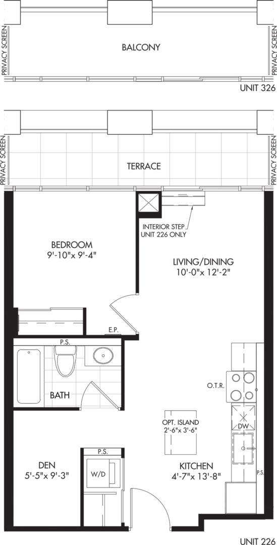 1D-A4 Floorplan 1
