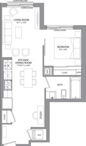 Suite 301 Floorplan 1