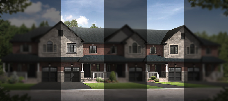 Holland at Village Square in Uxbridge by Maple Brook Homes