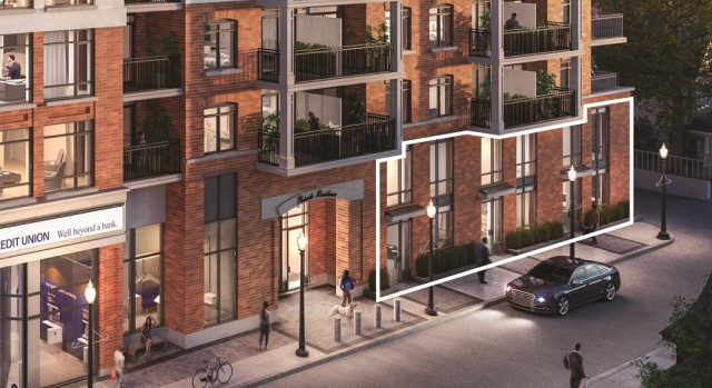 PACE on Main Townhomes in Stouffville by Geranium