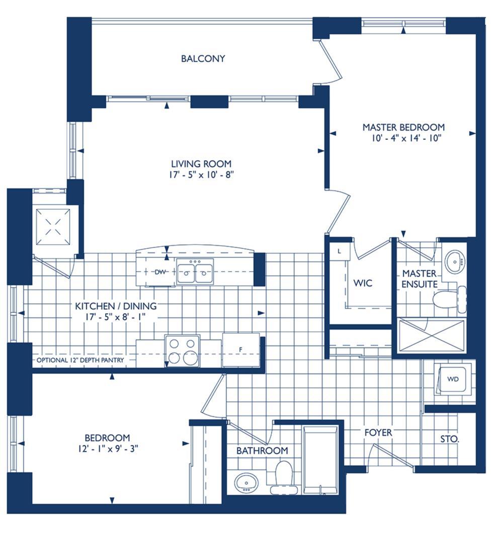 The Windsor Floorplan 1