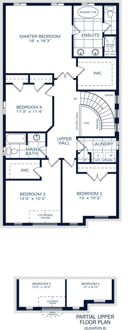 The Brockton B Floorplan 2