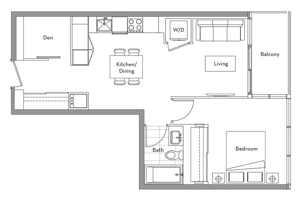 The Lakefront Collection - 012 Floorplan 1