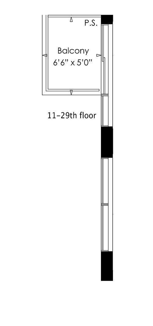 1B+D Floorplan 2