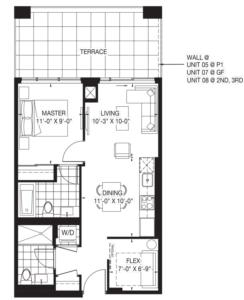 The Oasis Collection - Magnolia Floorplan 1