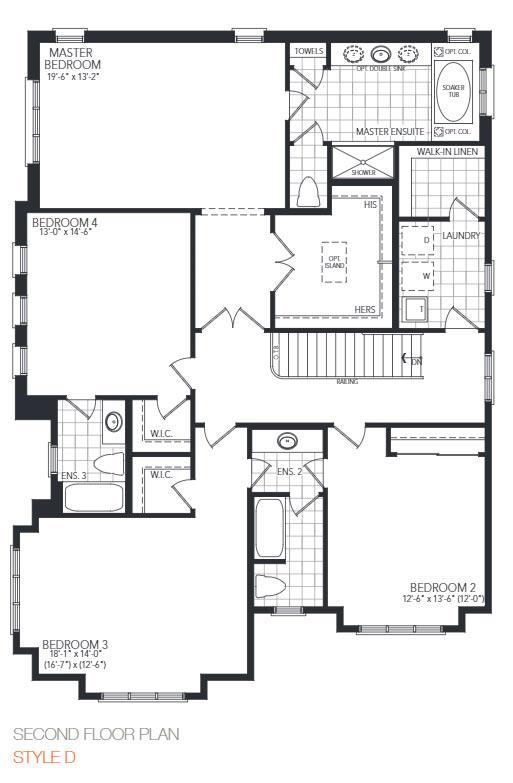 The Wedgewood Corner Floorplan 2