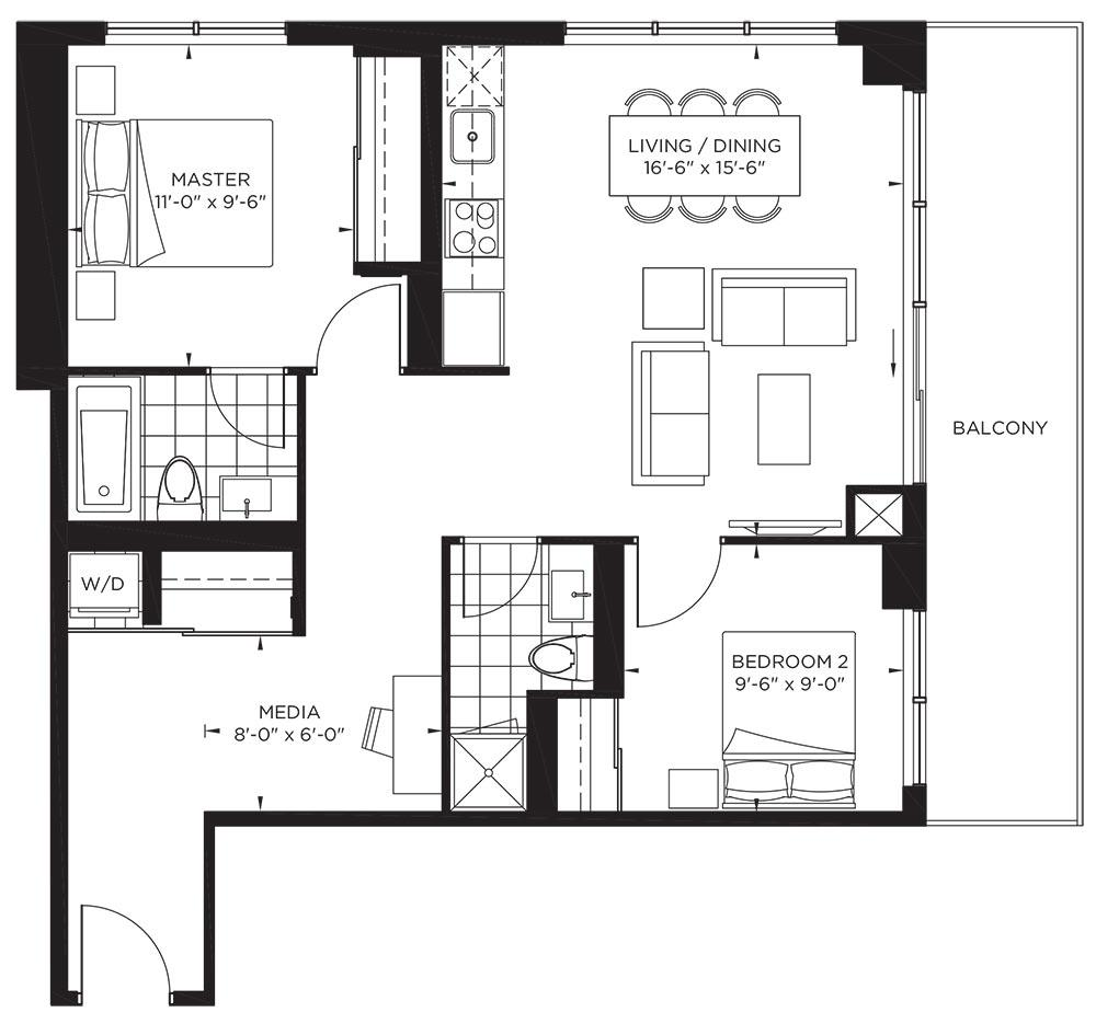 Tower Collection - Eastwood Floorplan 1