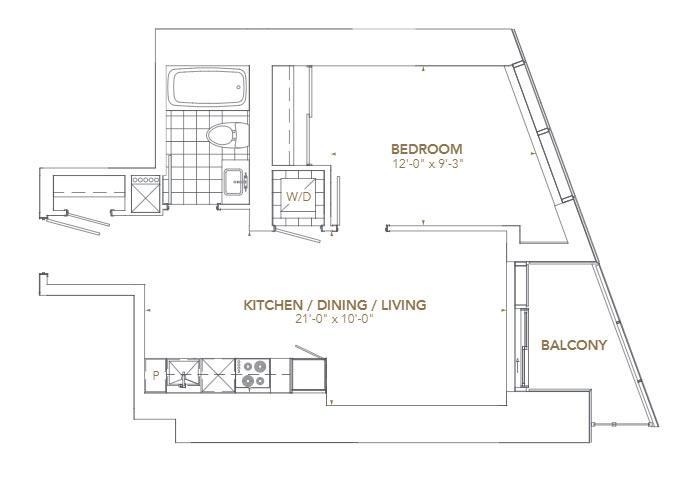 Residence 11 Floorplan 1