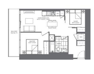 2-CC Floorplan 1