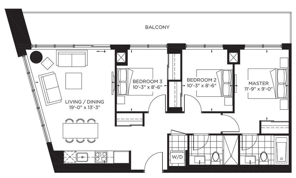 Garden Collection - Sinatra Floorplan 1