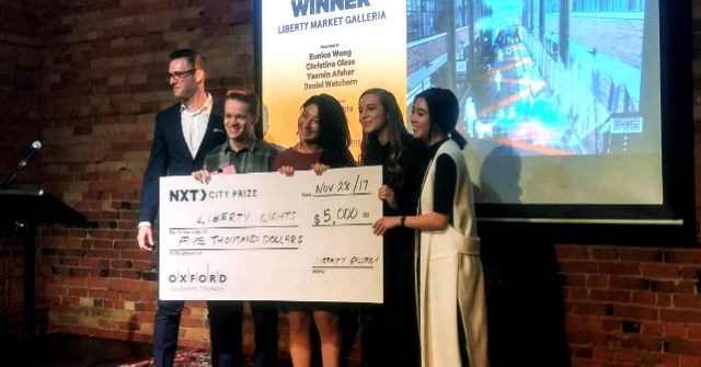 Winners of the 2017 NXT City Prize