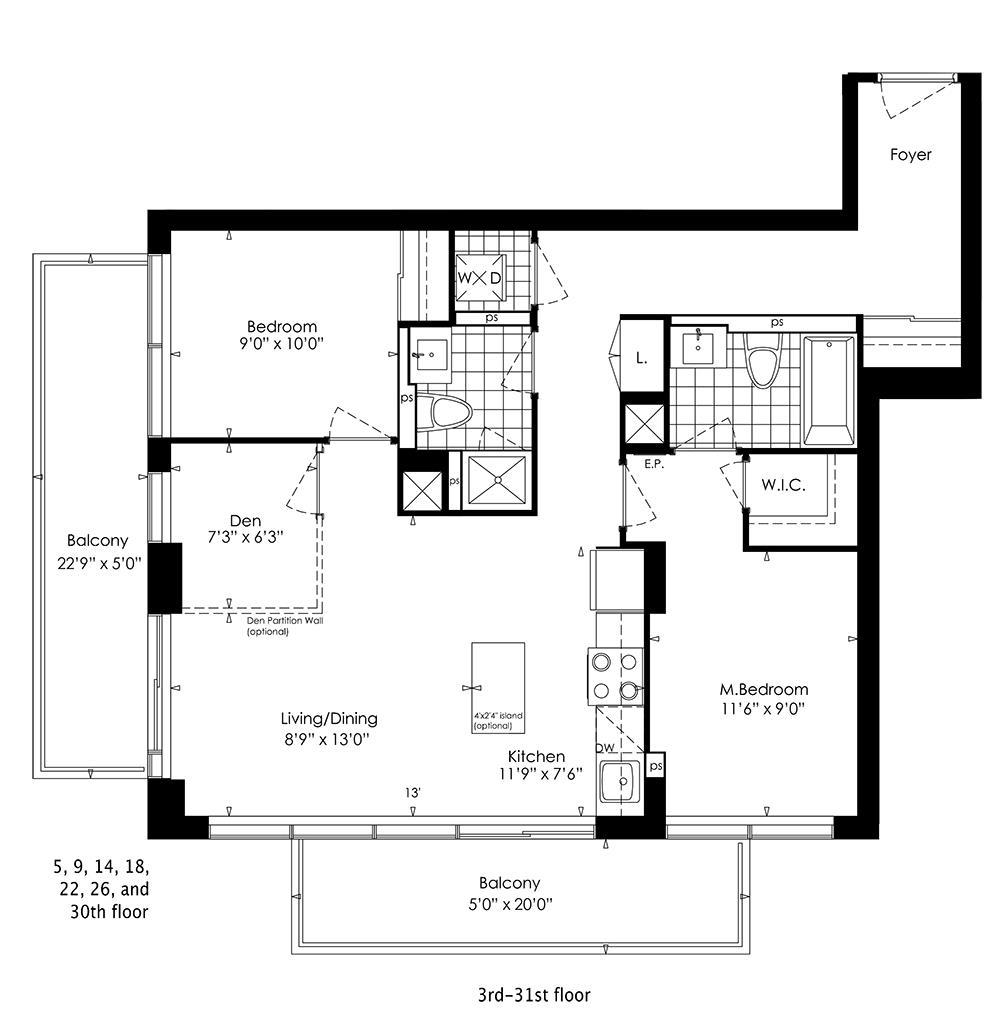 2C+D Floorplan 1