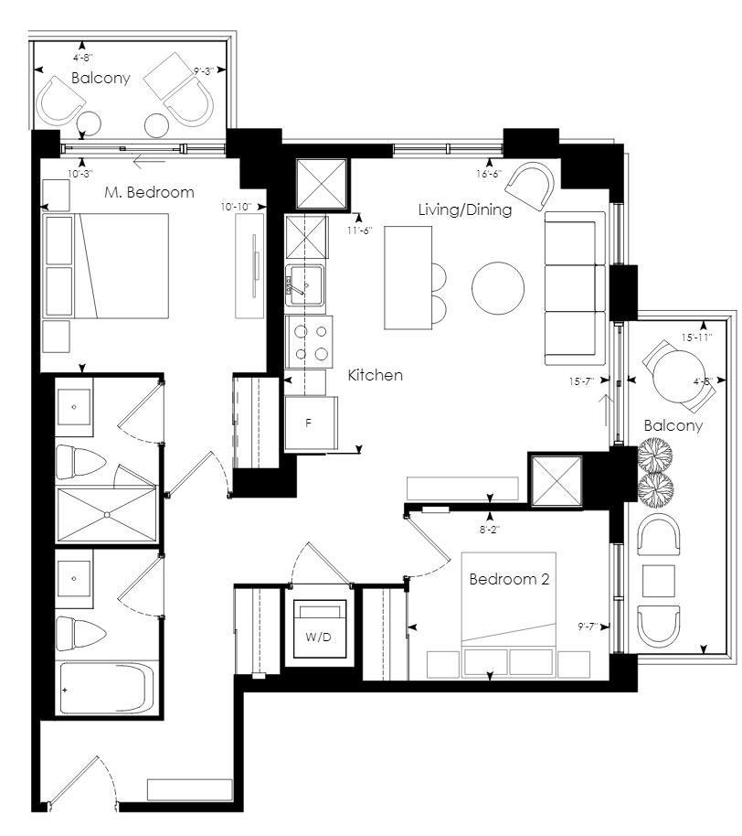 Tower 07 Floorplan 1