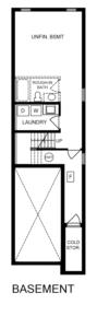 Inside Unit 2 Bedroom Floorplan 3