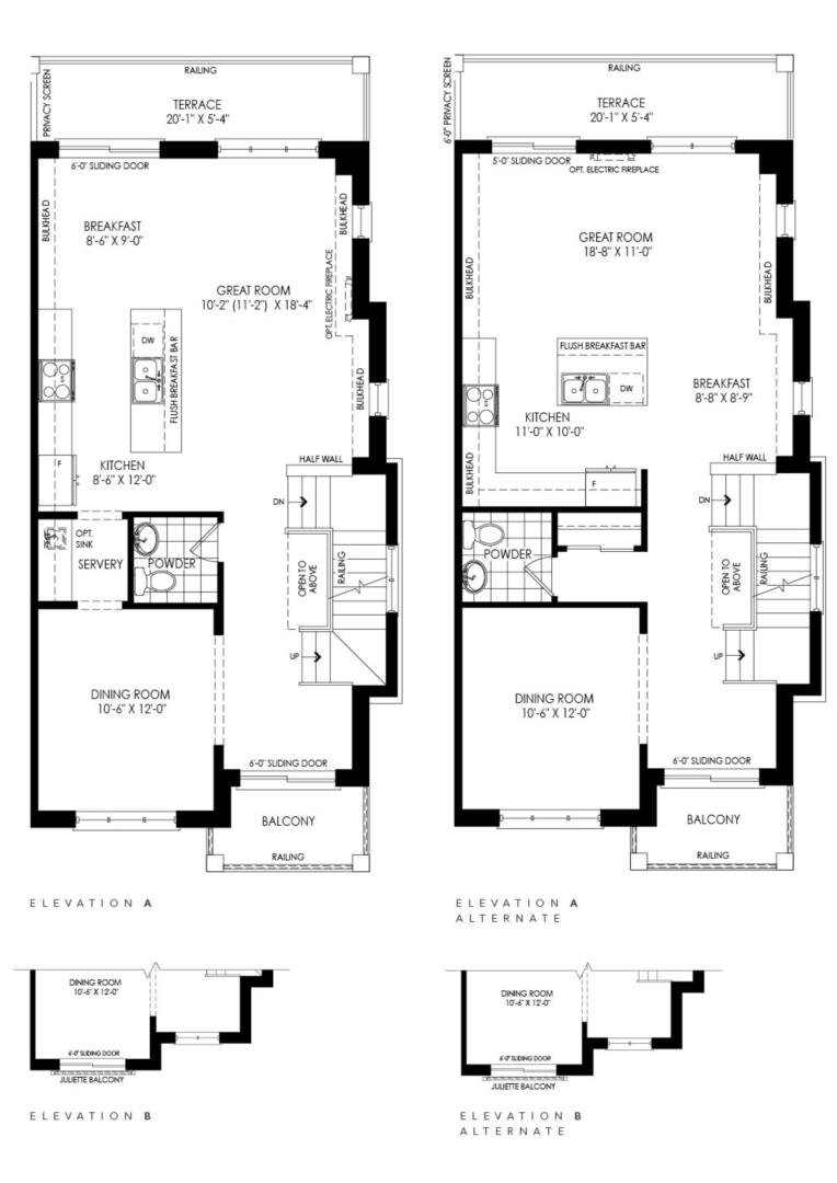 Stonegate Upgraded End Floorplan 2