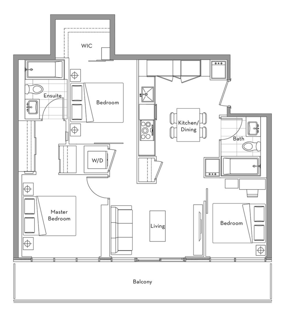 The 360 Collection - 16A Floorplan 1